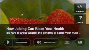 strawberry juicing vid