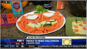 healthy halloween food video