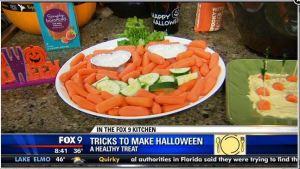 healthy halloween food video