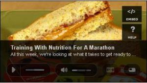 marathon food video