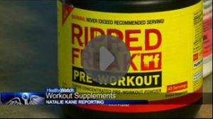 workout supplements video